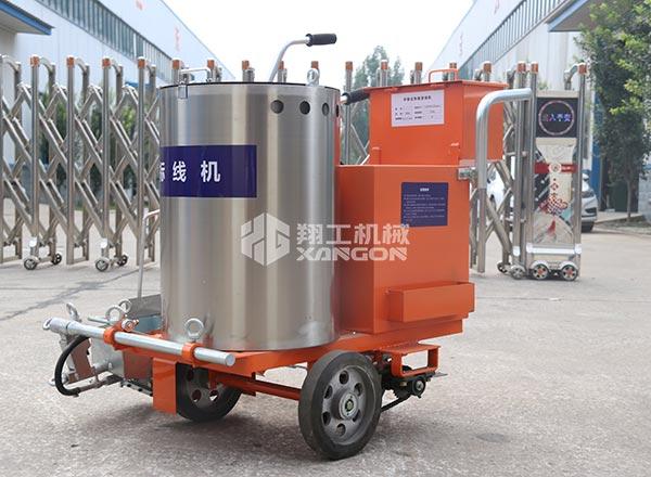 热熔划线机主要部件之料桶的作用介绍